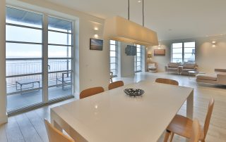 dining and lounge areas in apartment 3