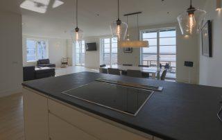 kitchen in apartment 4