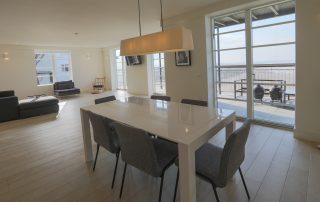 dining area in apartment 4