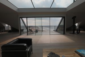 the balcony and view at The Penthouse