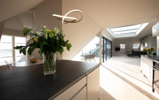 kitchen in The Penthouse