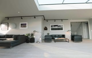 seating areas in The Penthouse